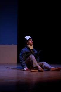 Dillon DiSalvo as Petey Fisk. Photo by Meagan C. Beach.