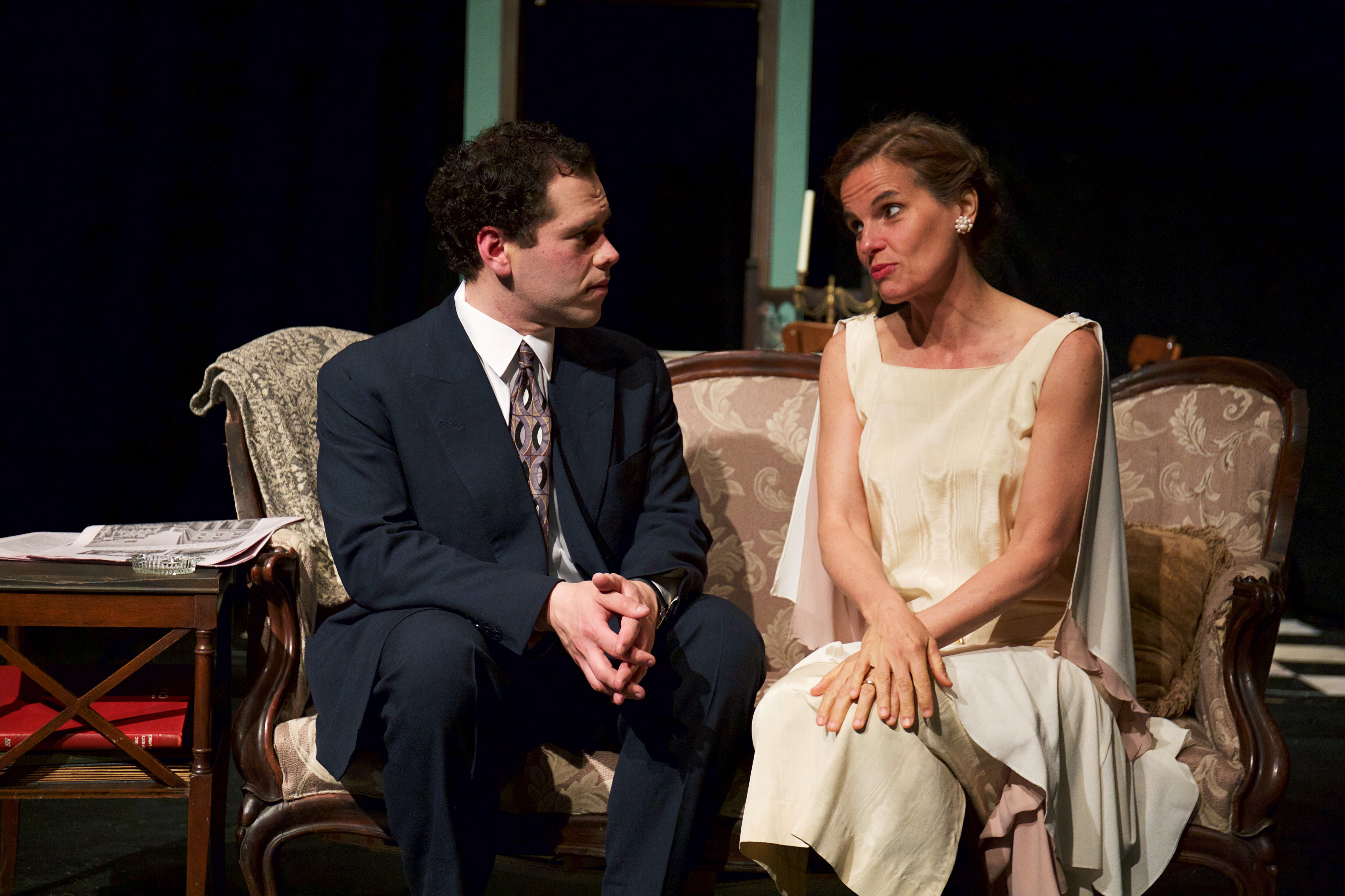 tom and jim in the glass menagerie by tennessee williams Review: this 'glass menagerie' has strength at its core  even playwright  tennessee williams, through tom's narration, tells us that memory  anneliese  moon and zach lane, as laura and gentleman caller jim, do the best.